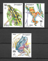 Somalia 2002 Animals - Frogs And Toads MNH (D0804) - Frösche