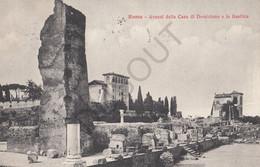 Postkaart/Carte Postale -Roma - Avanzi Della Casa Di Domiziano E La Basilica  (C176) - Other