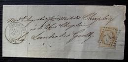 Carrouges (Orne) 1872 Gc 742, Pour La Lande De Goult (demande De Paiement Suite Au Décès D'un Notaire) - 1849-1876: Classic Period