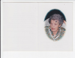 Doodsprentje / Image Mortuaire - Henriette Majean - Villers L'Evêque 1897 / Loncin 1997 - Todesanzeige