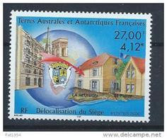 TAAF Neuf N° 286 De 2000 Délocalisation Du Siège - Nuovi