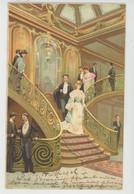 """BATEAUX - PAQUEBOTS - """"LA PROVENCE """" - Le Grand Escalier - Par LESSIEUX - Steamers"""