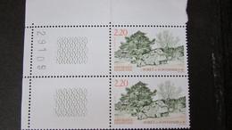 Paire Bord De Feuille   Forêt De Fontainebleau   1989  N°2586 - Non Classés