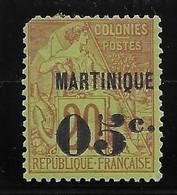 Martinique N°11 - Neuf * Avec Charnière - B - Neufs