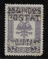 Albanie N°93 - Neuf * Avec Charnière - Pli Sinon TB - Albania
