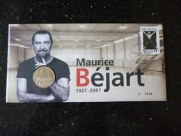 BELG.2009 3928 Numisletter TB, Muntbrief : MAURICE BEJART - Numisletters