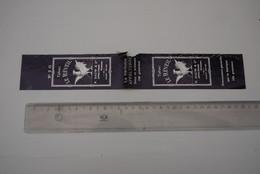 Tabak Tabacco  Etiket Periode 1900-1920 Le Reveil Appelterre Dauw - Etiquetas