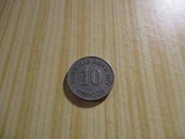 Allemagne - 10 Pfennig Wilhelm II 1897 A.N°1173. - 10 Pfennig