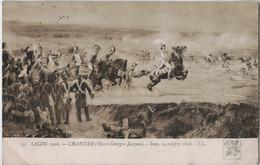 SALON DE PARIS 1906 - CPA - 14 OCTOBRE 1806  IENA  HENRI CHARTIER. - Malerei & Gemälde