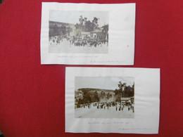 JUDAICA CONSTANTINE MANIFESTATION ANTI JUIVE Emile MORINAUD A LA GARE 1898 PHOTO - Lieux
