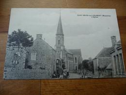 53 - Saint Mars Sur Colmont église (autre Plan) - Other Municipalities
