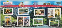 Année :2006 Portraits De Régions :La France à Vivre N° 7 Numéro Catalogue Yvert Et Tellier : 3882 à 3891 - Ongebruikt