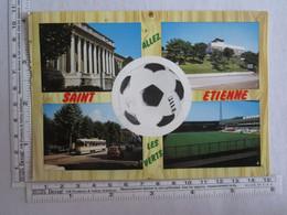 42] Loire > Saint Etienne Allez Les Verts Football Palais De Justice Tramway Stade - Saint Etienne