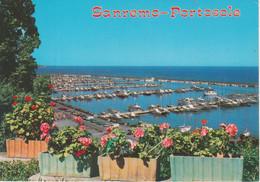 SANREMO - PORTOSOLE - NAVI SHIPS BARCHE - UTO D'EPOCA CARS VOITURES - NON VIAGGIATA - San Remo
