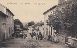 SAUCOURT (Haute-Marne): Rue Du Pavet - Other Municipalities