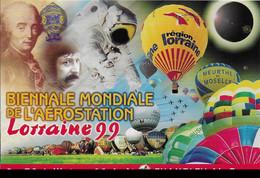 54 - CHAMBLEY - BIENNALE AEROSTATION  1999 ET ECLIPSE TOTALE DU SOLEIL - Chambley Bussieres