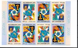 2006 Aserbeidschan Azerbaycan   Mi. 638-9 **MNH Booklet  Europa  Integration. - 2006