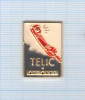 Pin's Téléphonie Telic Alcatel (1) - France Telecom