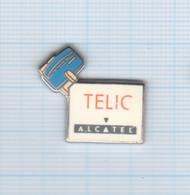 Pin's Téléphonie Telic Alcatel (2) - France Telecom