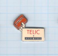 Pin's Téléphonie Telic Alcatel (3) - France Telecom