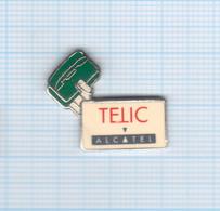 Pin's Téléphonie Telic Alcatel (4) - France Telecom