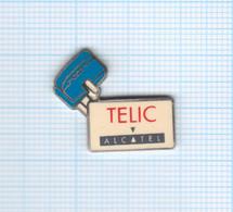 Pin's Téléphonie Telic Alcatel (5) - France Telecom