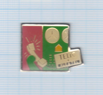 Pin's Téléphonie Telic Alcatel (6) - France Telecom