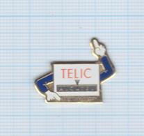 Pin's Téléphonie Telic Alcatel Formation - France Telecom