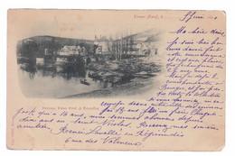 CPA Dpt 27 - VERNON - Précurseur 1901 - Paysage Vieux Pont Et Tourelles - Edit. Victor Petit - Vernon