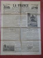 Journal La France De Bordeaux Et Du Sud Ouest WW1 14 Janvier 1915 Etavigny Oise Vermelles Pas De Calais - 1914-18