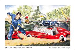 PIE-DR-20-1689 : LE MANS. LES 24 H DU MANS  AU VIRAGE DU TERTRE-ROUGE. ASSURANCES MUTUELLES DU MANS - Le Mans