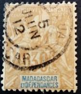 Madagascar 1896 Yvert 36 O Used - Gebruikt