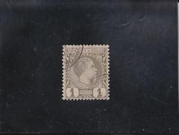 PRINCE CHARLES III 1C OLIVE OBLITéRé N° 1 YVERT ET TELLIER 1885 - Unclassified