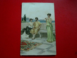 CPA ILLUSTRATION - CARTE POSTALE 1906 - COLORÉ - CIRCULADA EM PORTUGAL (IT#2261) - 1900-1949