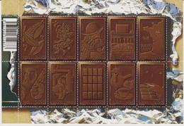 Année :2009 Le Chocolat Numéro Catalogue Yvert Et Tellier : 4357 à 4366 - Ungebraucht