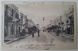 Carte Postale Hanoï Tonkin Rue Paul Bert 1906 - Vietnam