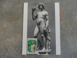 CARTE MAXIMUM CARD MICHELANGELO MALDIVES - Sculpture