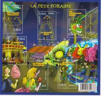 Année :2009  La Fête Foraine  Numéro Catalogue Yvert Et Tellier : 4378 à 4383 - Ungebraucht