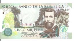 COLOMBIE 5000 PESOS 2013 UNC P 452 P - Kolumbien