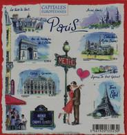Année :2010 Capitales Européennes : Paris Numéro Catalogue Yvert Et Tellier :4514 à 4517 - Ungebraucht