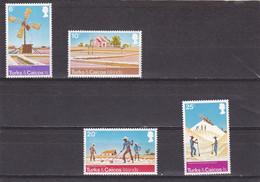Turcas Y Caicos Nº 343 Al 346 - Turks And Caicos