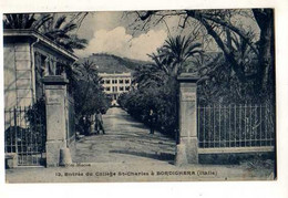 BORDIGHERA Entree Du College St Charles - Andere Städte