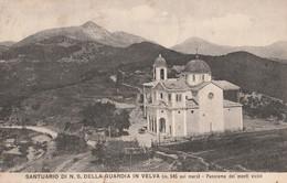 SANTUARIO DI N. S. DELLA GUARDIA IN VELVA ( M.545 Sul Mare ) - Panorama Dei Monti Vicini - - Genova