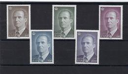ESPAÑA.Años 1995/1996.Rey Juan Carlos. - 1991-00 Unused Stamps