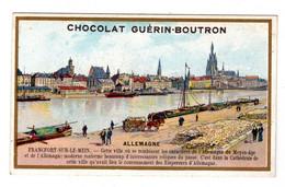 Chromo Guérin Boutron: Allemagne, Frankfort, Frankfurt - Guerin Boutron