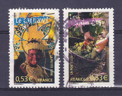 TIMBRE FRANCE N° 3887.3888 OBLITERE - Usati
