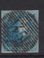 Belgique N°2 20c épaulettes Ob P 45 GAND  Pour Marges, Variétés Et Nuances Voir Scan; Supplémentaires Sur Demande - 1849 Epaulettes