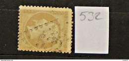 11 - 20 // France N° 21 - Oblitération GC 532 - Bordeaux - 1862 Napoléon III