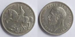 Great Britain (United Kingdom) 1 Crown, 1935 25th Anniversary - Reign Of George V KM# 842 - L. 1 Crown