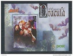 Irlande 1997 Bloc  N°27 Centenaire De Dracula - Hojas Y Bloques